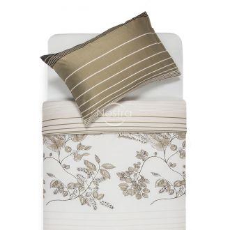 Satīna gultas veļa AGOTI 40-0884-BROWN