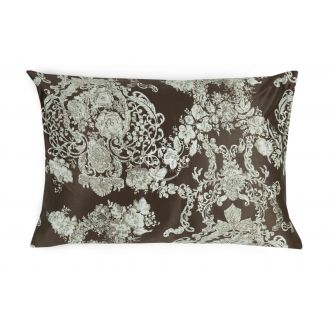 Maco sateen pillow cases with zipper 40-0876-CACAO