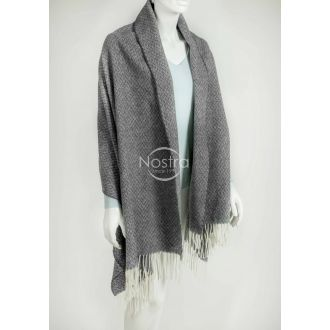 Scarf KUBA 80-3124-DARK GREY