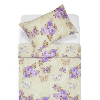 Polycotton bedding set HILA 20-0424-PURPLE