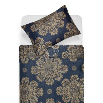 Sateen bedding set ALEXIS 40-0882-BLUE