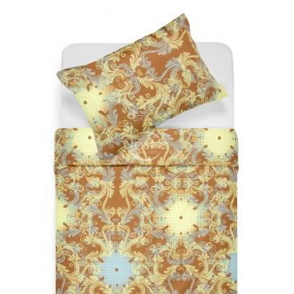 Maco sateen bedding set CAROLINE 40-0631-YELLOW