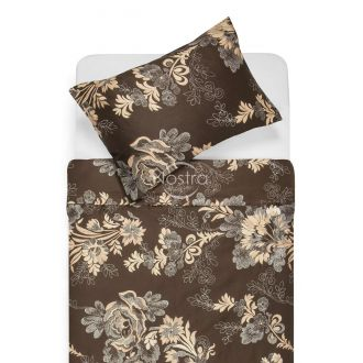 Sateen bedding set AFARIN 20-1301-BROWN/CACA