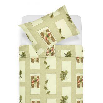 Kokvilnas gultas veļa DULCIE 40-0105-GREEN