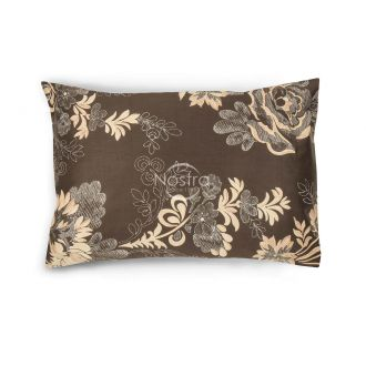 Sateen pillow cases with zipper 20-1301-BROWN/CACA