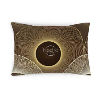 Sateen pillow cases with zipper 30-0285-BROWN