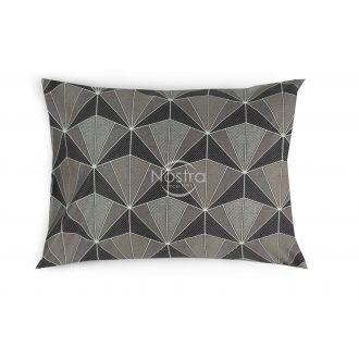 Sateen pillow cases with zipper 30-0506-GREY