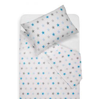 Детское постельное белье STARS 10-0052-L.GREY/L.BLUE