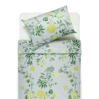 Satīna gultas veļa ANNE 20-1494-GREEN