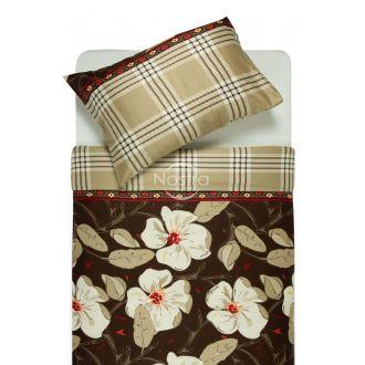 Satīna gultas veļa ALINA 20-0073-BROWN