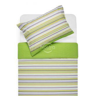 Kokvilnas gultas veļa DAKOTA 30-0249-GREEN LILAC