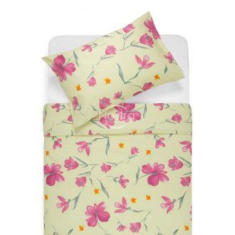 Kokvilnas gultas veļa DESTINY 20-1502-PINK