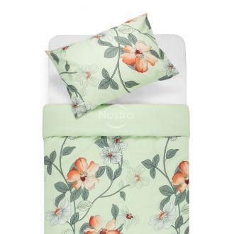 Kokvilnas gultas veļa DALORES 20-0852-GREEN