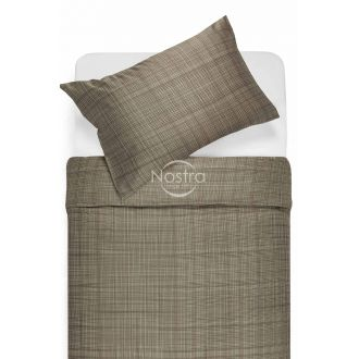 Satīna gultas veļa APPLE 30-0485-CACAO