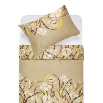 Satīna gultas veļa ANGELA 20-1498-SILVER GREY