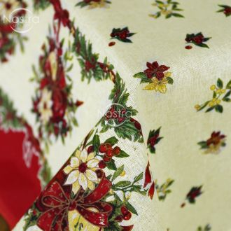 Cotton tablecloth 40-0329-PAPYRUS