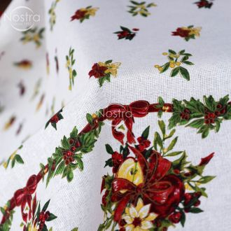 Cotton tablecloth 40-0329-WHITE