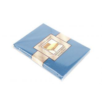 Kokvilnas palags ar gumiju 00-0053-LIGHT BLUE
