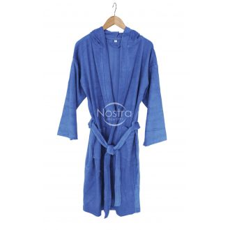 Hooded bathrobe 00-0184-PALACE BLU