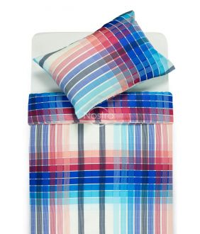 Sateen bedding set ALICE 30-0421-AQUA