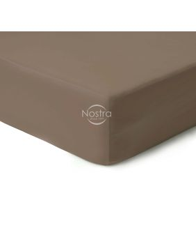 Fitted sateen sheets 00-0211-CACAO