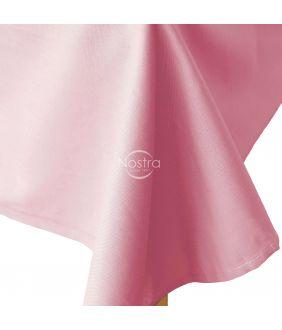 Flat cotton sheet 00-0132-TEA ROSE