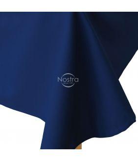 Kokvilnas palags 00-0317-DARK BLUE