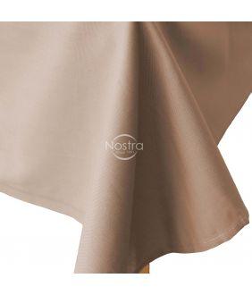 Flat cotton sheet 00-0228-PALE BROWN