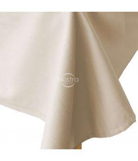 Flat cotton sheet 00-0306-SEASAME