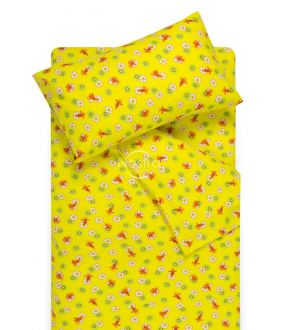 Детское фланелевое постельное белье LITTLE BEES 10-0130-YELLOW