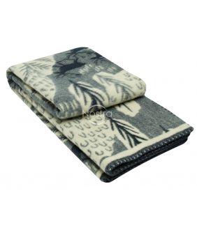 Blanket MERINO 80-3180-BLUE