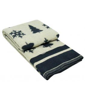 Blanket MERINO 80-3189-BLUE