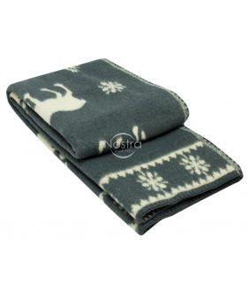 Blanket MERINO 80-3056-DARK GREY