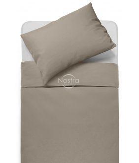 Kokvilnas gultas veļa DOTTY 00-0228-PALE BROWN