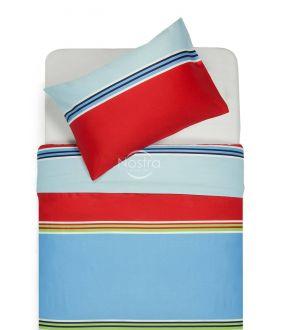 Постельное бельё из сатина ADETTE 30-0428-BLUE