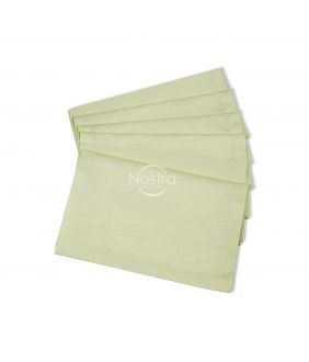 Жаккардовые сатиновые салфетки, 6 штук 80-0004-IVORY