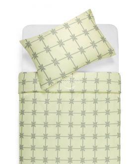 Sateen bedding set ANGELINA 30-0444-BEIGE