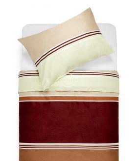 Satīna gultas veļa ADETTE 30-0428-TERRA