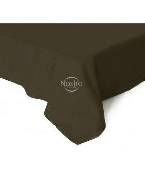Flat sateen sheets 00-0154-DARK BROWN