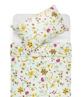 Cotton bedding set DEBRA 20-0256-YELLOW