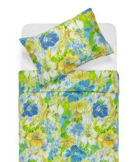 Kokvilnas gultas veļa DELPHINE 40-0064-BLUE