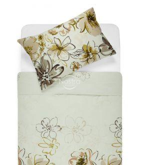 Sateen bedding set AGATA 20-1387-BROWN