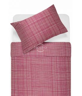 Sateen bedding set APPLE 30-0485-FUCHSIA