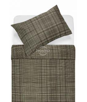 Satīna gultas veļa APPLE 30-0485-BROWN