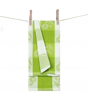 Kitchen towel WAFEL-240 T0102-SPRING GRE