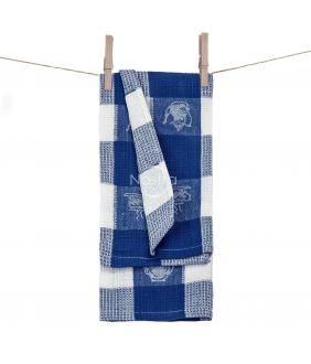 Kitchen towel WAFEL-240 T0103-ROYAL BLUE