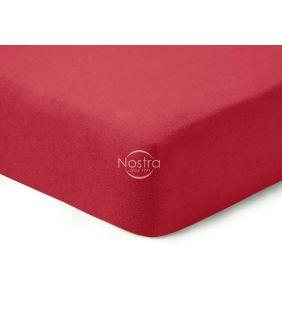 Махровые простыни на резинке TERRYBTL-WINE RED