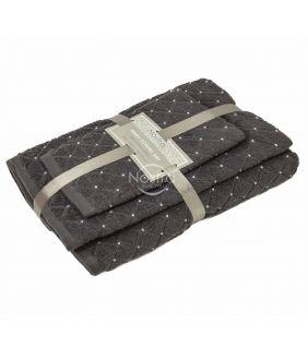 3 pieces towel set T0107 T0107-EXC.GREY