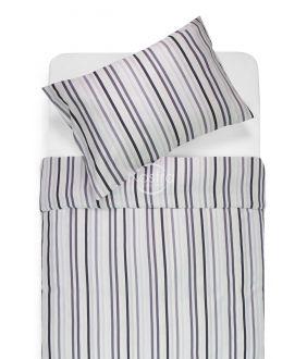 Sateen bedding set ANTONIA 30-0487-GREY