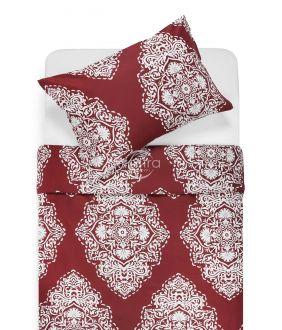 Satīna gultas veļa ADONIA 40-1174-WINE RED